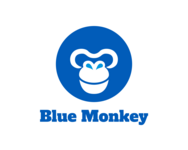 Logo Blue Monkey in Roeselare