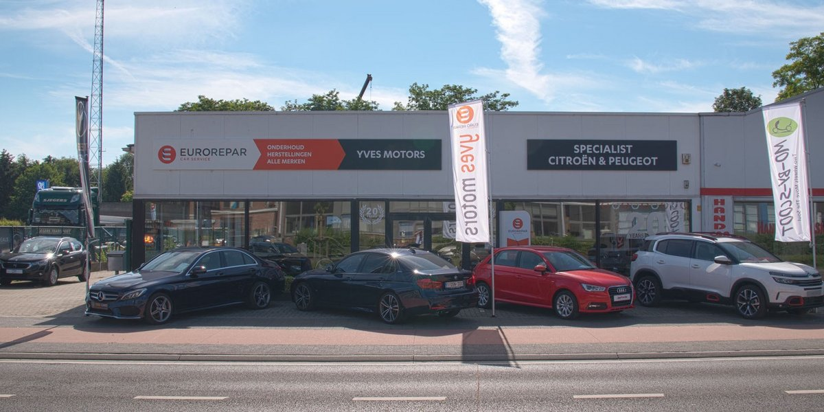 Header Yves Motors in Tessenderlo