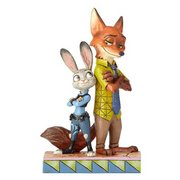 Jim Shore Disney Traditions by Enesco Nick and Judy From Zootopia