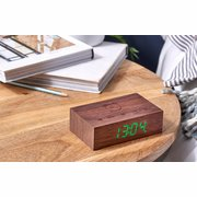 GINGKO FLIP CLICK CLOCK WALNUT