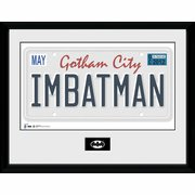 Batman - License Plate