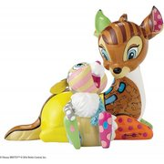 Disney by Britto Bambi with Thumper Stone Resin Figurine