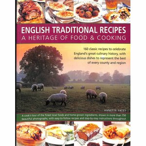 Boek English Traditional Recipes a Heritage - Annette Yates