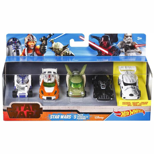 Hot Wheels Auto Star Wars 5-Pack