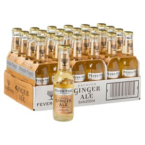 FEVER-TREE GINGER ALE 6X4X20CL