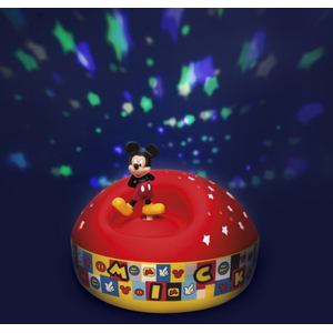 Disney Night Light Star Projector with Music Mickey 12 Cm