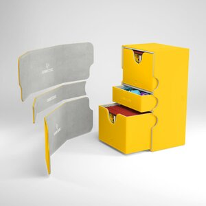 DECKBOX STRONGHOLD 200+ CONVERTIBLE YELLOW