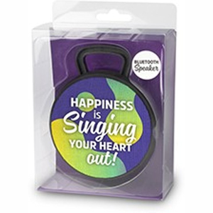 Bluetooth Speaker - Happiness is swinging your heart out!