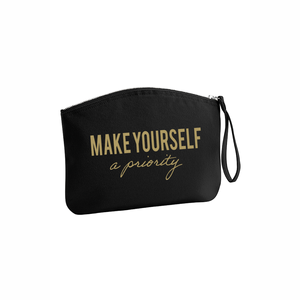 Make yourself a priority make-up tas L Zwart