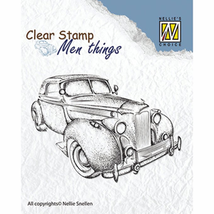 Clear stamp Nellie choice oldtimer