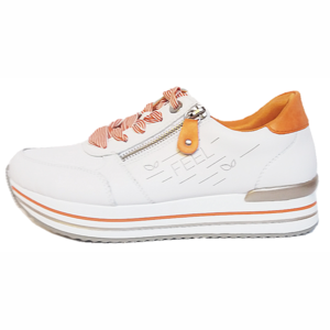 Remonte Lage Sneakers D1313 wit