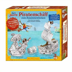 Knutselset piratenschip