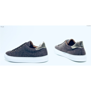 Monaco Duck Sneakers Charlie Taupe Gold