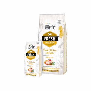Brit Fresh Chicken with Potato for Adult Dogs 12 kg