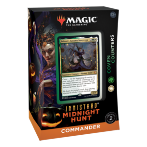 INNISTRAD MIDNIGHT HUNT COMMANDER DECK - COVEN COUNTERS