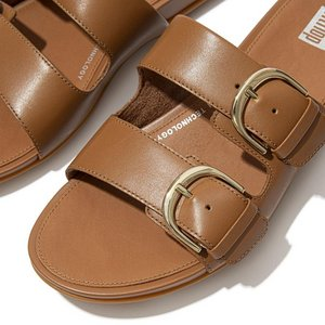 FitFlop Slides DE3 Graccie light tan