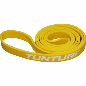 Tunturi Fitness Power Band Light Yellow Weerstandsband