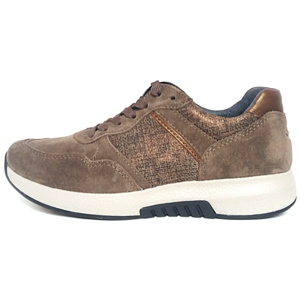 Rollingsoft lage sneakers 76.498-30 taupe
