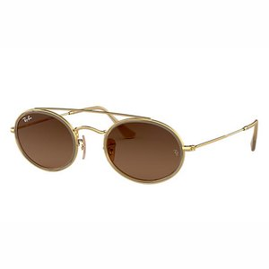 Ray-Ban Zonnebril RB3847N Goud/Bruin