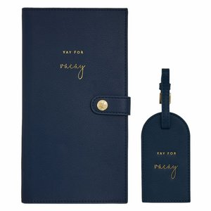 Travelset - Yay for Vacay - Navy