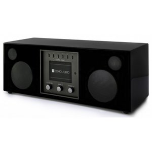 Como Audio Duetto Stereo Radio Zwart