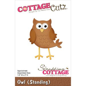 Scrapping CottageCutz Uil (staand)