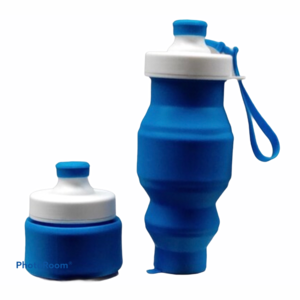 Silicone opvouwbare drinkfles