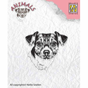 Clear stamp Nellie choice hond