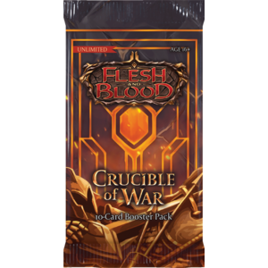 FLESH AND BLOOD CRUCIBLE OF WAR UNLIMITED BOOSTER