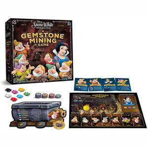 Snow White and the Seven Dwarfs Board Game A Gemstone Mining Game *English Version*