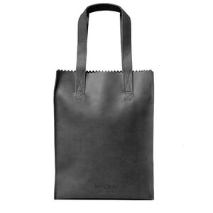 Myomy My Paper Bag Long Handle Zip hunter off-black