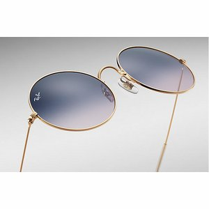 Ray-Ban Zonnebril RB3592 Goud/Blauw