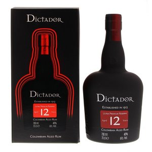 Dictador 12 Years 40° 0.7L