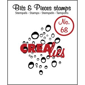Crealies Clear stamp Bits & pieces steentjes -drupjes