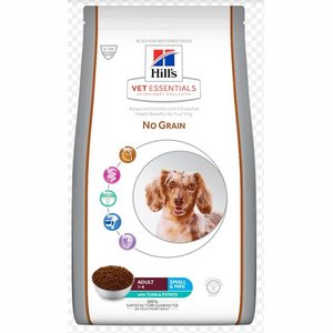 Hill's Vetessentials Canine Small & Mini No Grain Tuna & Potato 2 kg