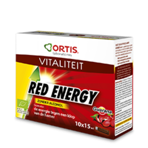 Ortis red energy zonder alcohol 10x15ml