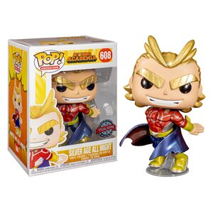Pop! Animation: My Hero Academia - Silver Age All Might (Special Edition)