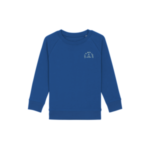 Let's get lost kids sweater