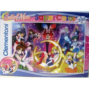 Clementoni - Super Color puzzel Sailor Moon - 250 stukjes