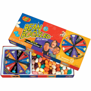 BEANS BEANBOOZLED SPINNER WHEEL GAME BOX