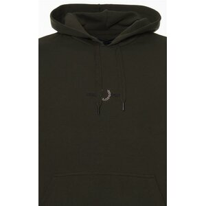 Embroidered Hooded Sweatshirt Fred Perry