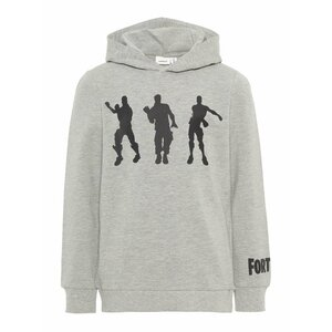 Name it : FORTNITE grijze hoodie