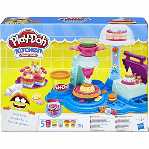 Play-Doh Cake Party - Klei Speelset