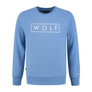 WOLF Sweater 3D (Heather Blue)