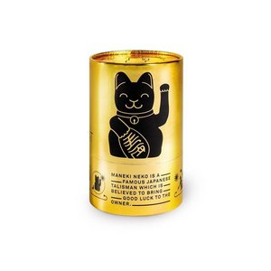 Lucky cat Black glossy