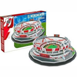 3D Puzzle River Plate - El Monumental 99 pieces