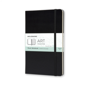Moleskine MUSIC NOTEBOOK large zwart