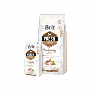 Brit Fresh Turkey with Pea for Overweight and Senior Dogs 12 kg