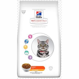 Hill's Vetessentials Feline Adult Cat 8kg Kattenbrokken