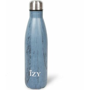 izy drinkfles design blauw 500ml